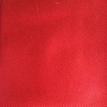 Givenchy Solid Red Narrow Silk Men's Necktie Photo