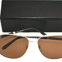 Givenchy Sunglasses Authentic Sgv458 544p Shiny Palladium/brown  Photo