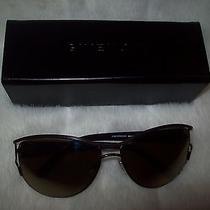Givenchy Sunglasses Sgv356 162x Bronze/brown Gold Flash Lens New Photo