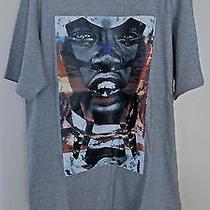 Givenchy Sunset Face Star Curved Hem T-Shirt Xs Oversized  Photo