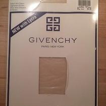 Givenchy Sz B Vtg 1990s Body Gleamers Control Top Pantyhose Le Creme Shimmery  Photo