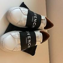 Givenchy Urban Street Logo Sneakers Shoes Low Top White Women's Size 38 595 Photo