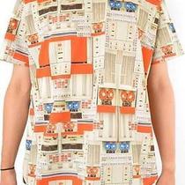 Givenchy Vintage Computer Print T-Shirt  Rare Size S New Photo