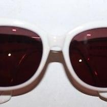Givenchy Women's Sunglasses White Authentic Photo