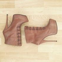 Gl Handmade for Camilla & Marc Tan Boots Photo