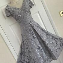 Glamorous Bnwt Jolie Moi Size 6/8 Applique Lace Bloom 50's Style Flared Dress Photo