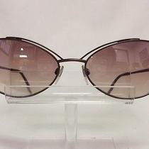 Glamorous via Spiga Sunglasses Bronze Brown Metal Is Made in Italy Nos Photo