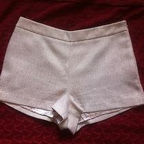 Glamour Collection Blush Mixed Lined Shorts Size 12 Photo