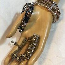 Glitz and Beyond Small Lot of 3 Bracelets Photo