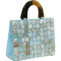 Global Elements Tiled Mother of Pearl Handbag 3 Colors Photo