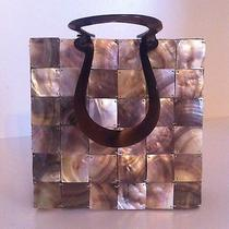 Global Elements Tiled Mother of Pearl Handbag Photo