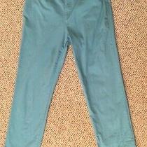 Gloria Vanderbilt Amanda Cotton/spandex Ladies' Turquoise Jean Pants Size 12 Photo