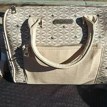 Gloria Vanderbilt Cream Purse New With Tags Vinyl  Photo