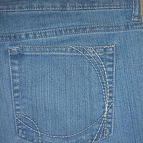 Gloria Vanderbilt Gabby Boot Cut Stretch Denim Jeans Womens Size 10 X 32 Photo