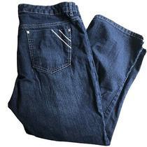 Gloria Vanderbilt Slimming Womens Capri Jean Pants Size 14 Missy Photo