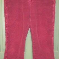 Gloria Vanderbilt Women's Burgundy Corduroy Pants - Size 12 Average Photo