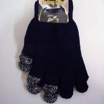 Gloves Ladies Texting Navy by Gold Medal One Size Fits Most New With Tag Photo