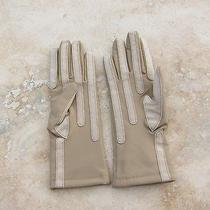 Gloves No Brand 79% Nylon 21% Lycra Synthetic Beige One Size Warm Lining Photo