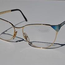 Gold and Blue Impressive Vintage Missoni 58-15 140 Sun/eyeglasses Frame New Photo