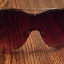 Gold Armani Exchange Rimless Sunglasses - Never Worn Photo