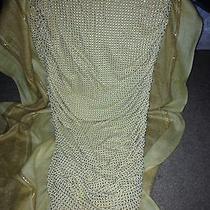 Gold Celine Mermaid Skirt Photo
