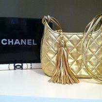 Gold Chanel Handbag Photo