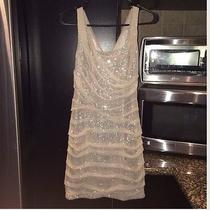 Gold Express Dress Size 4 Photo