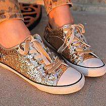 Gold Glitter Sneakers Aldo Photo