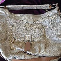 Gold Leather Botkier Handbag Photo