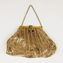 Gold Mesh Purse by Whiting and Davis Photo