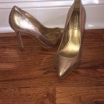 Gold Metalic Heels 6.5 Photo