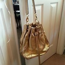 Gold Metallic Antonio Melani Handbag Photo