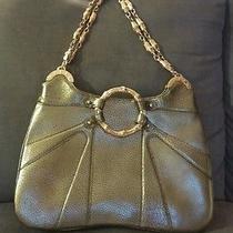 Gold Metallic Gucci Handbag Photo