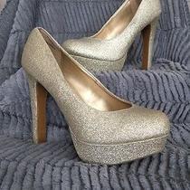 Gold Mossimo Heels Photo
