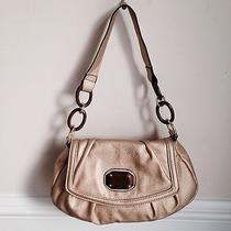 Gold Nicole Miller Shoulder Bag Hansbag Purse Photo