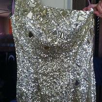 Gold Prom Dress by Blush Prom Sz8 Photo