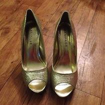 Gold Sparkle Heels Photo