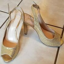 Gold Sparkly Nine West 6m 4.5