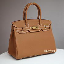 Gold Togo & Gold 30cm Hermes Birkin Bag  Photo
