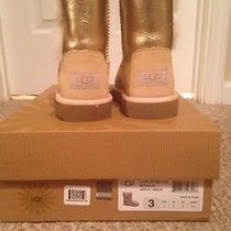 Gold Uggs Size 3 Photo
