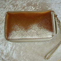 Gold Wallet Wristlet Avon  Photo