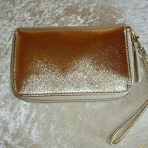 Gold Wallet Wristlet Avon  Photo