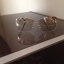 Gold Womens Ysl Sunglasses Photo