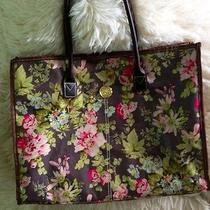 Gorgeous Anna Griffin Tote Bag Floral Purse Photo