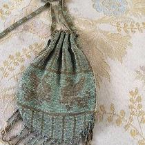 Gorgeous Antique Micro-Beaded Purse With Griffin Motif Photo