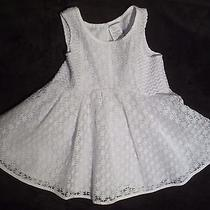 Gorgeous Baby Girls Boutique Camilla  White Floral Dress  Size 5t  Photo