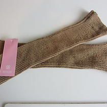 Gorgeous Basler Camel & Cognac Diamante Alpaca/wool Blend Fingerless Gloves Bnwt Photo