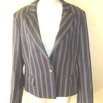 Gorgeous Bcbg Maxazria Striped Blazer Jacket.  Sz. M. Photo