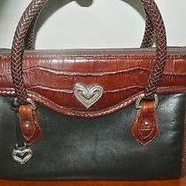 Gorgeous Brighton Collection Boston Style Leather Handbagpurse Photo