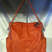 Gorgeous Chanel Salmon/light Orange Hobo/shoulderbag Photo